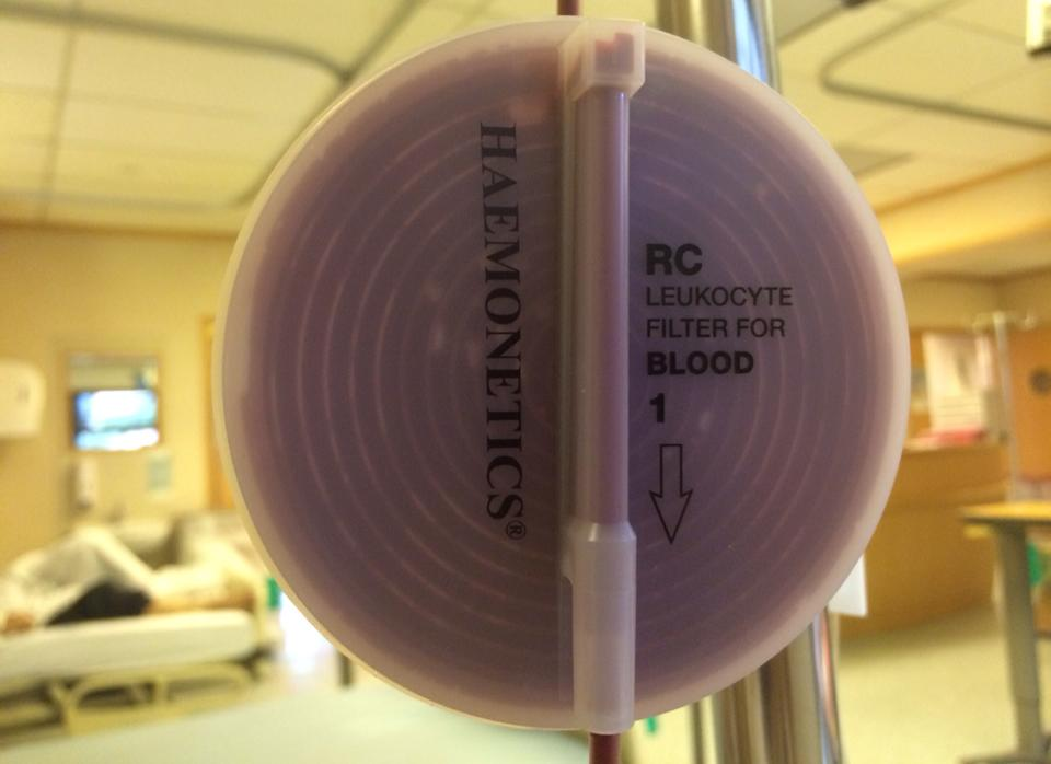 HAEMONETICS - RC LEUKOCYTE FILTER FOR BLOOD